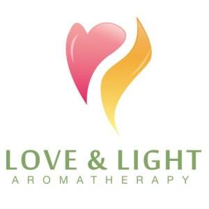 logo love and light aromatherapy